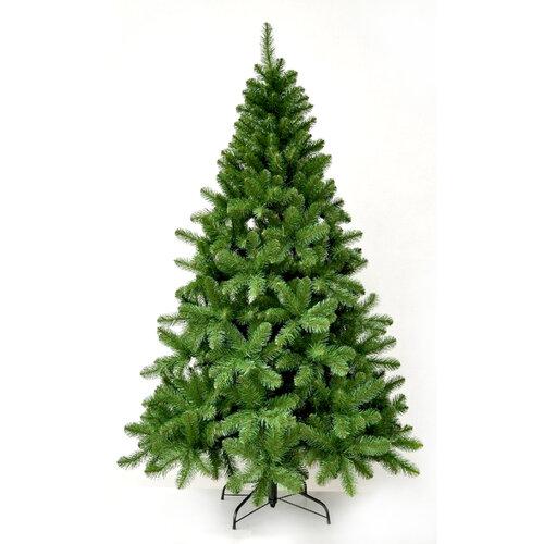 Vianočný stromček jedľa balzámová, v. 210 cm, zelená