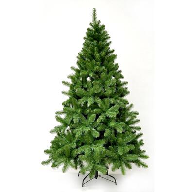Vánoční stromeček jedle balzámová,  v. 210 cm, zelená