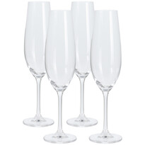 4-częściowy komplet kieliszków na szampana, 260 ml