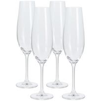 Set 4 pahare pentru șampanie, 260 ml