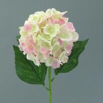 Umelá kvetina Hortenzia, svetloružová