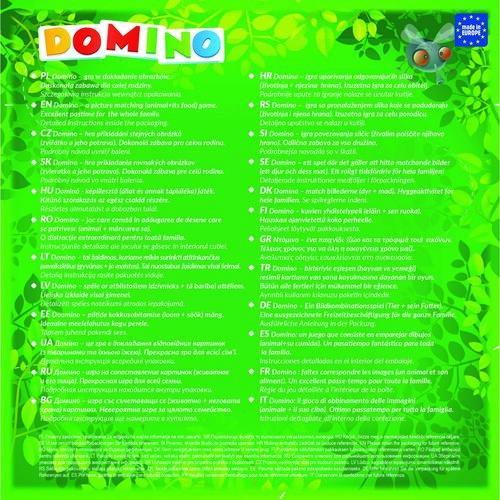 Trefl Domino Veselá zvířátka