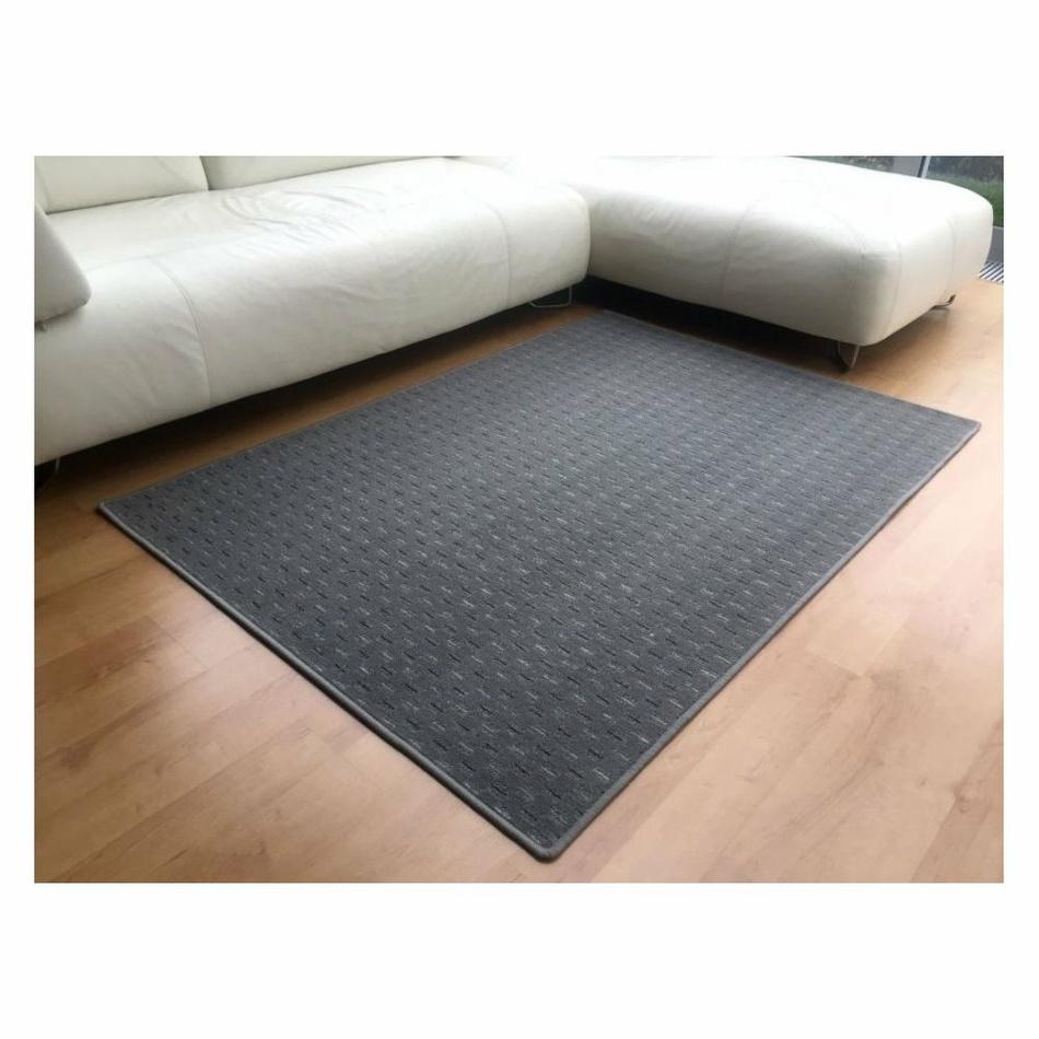 Vopi Kusový koberec Valencia sivá, 80 x 150 cm
