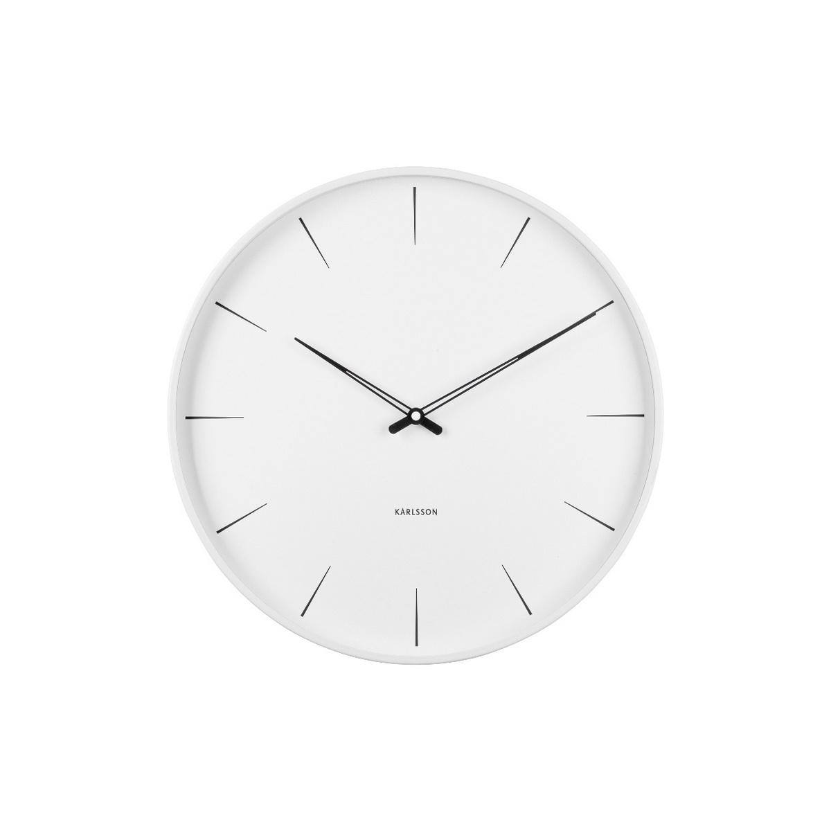 Karlsson Designové nástěnné hodiny KA5834WH