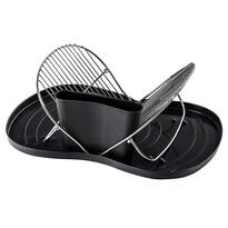 Összecsukható edénycsepegtető, fekete