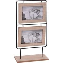 Drewniana ramka fotograficzna, 20,5 x 41 x 5 cm
