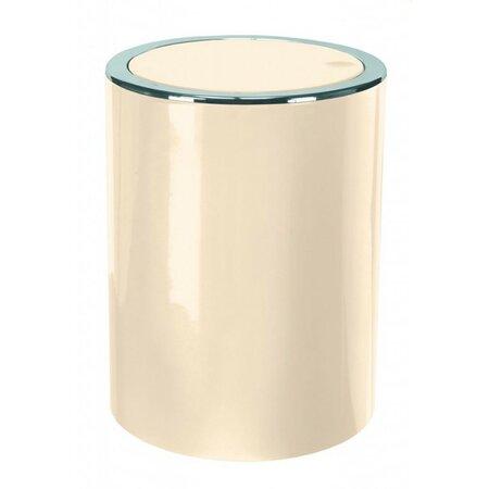 Kleine Wolke Kosmetický odpadkový koš Clap Mini 1,5 l, béžová