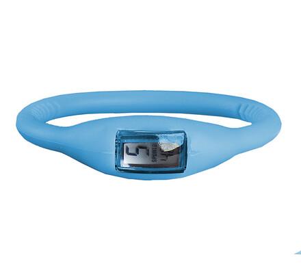 Silikonové hodinky, modrá
