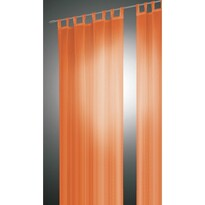 Draperie David  portocalie, 140 x 245 cm, set  2 buc