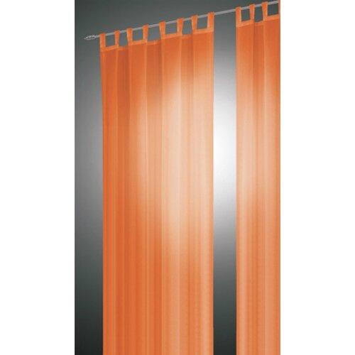 Albani Záves David oranžová, 140 x 240 cm, sada 2 ks, 140 x 240 cm