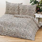 2 sady povlečení Leopard, 140 x 200 cm, 70 x 90 cm