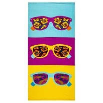 Ręcznik plażowy Okulary słoneczne, 70 x 150 cm