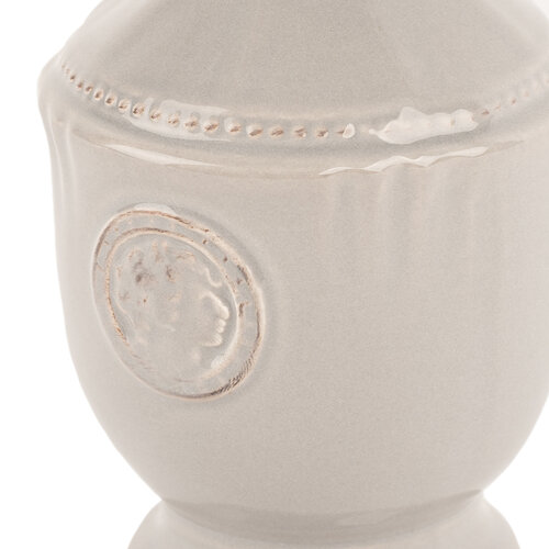 Dozator ceramic de săpun Waterloo, gri, 17,5 cm