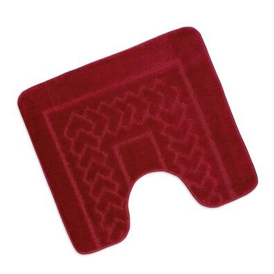 Koupelnová předložka Standard Červené bolzáno WC, 60 x 50 cm