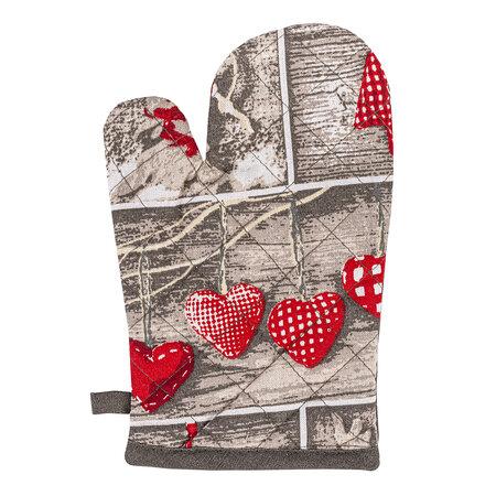 Vianočná chňapka Christmas Heart, 17 x 27 cm
