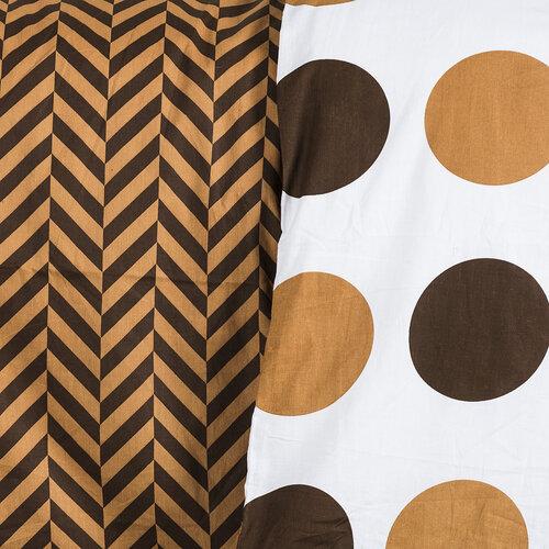 4Home Bavlnené obliečky Kiko, 220 x 200 cm, 2x 70 x 90 cm