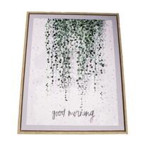 Obraz na plátne v ráme Good Morning, 40 x 50 cm