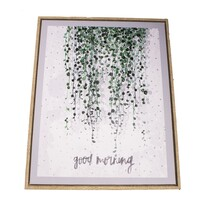 Tablou pe pânză înrămat Good Morning, 40 x 50 cm