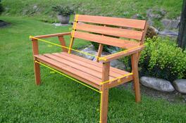 Happy Green Aster zahradní lavice