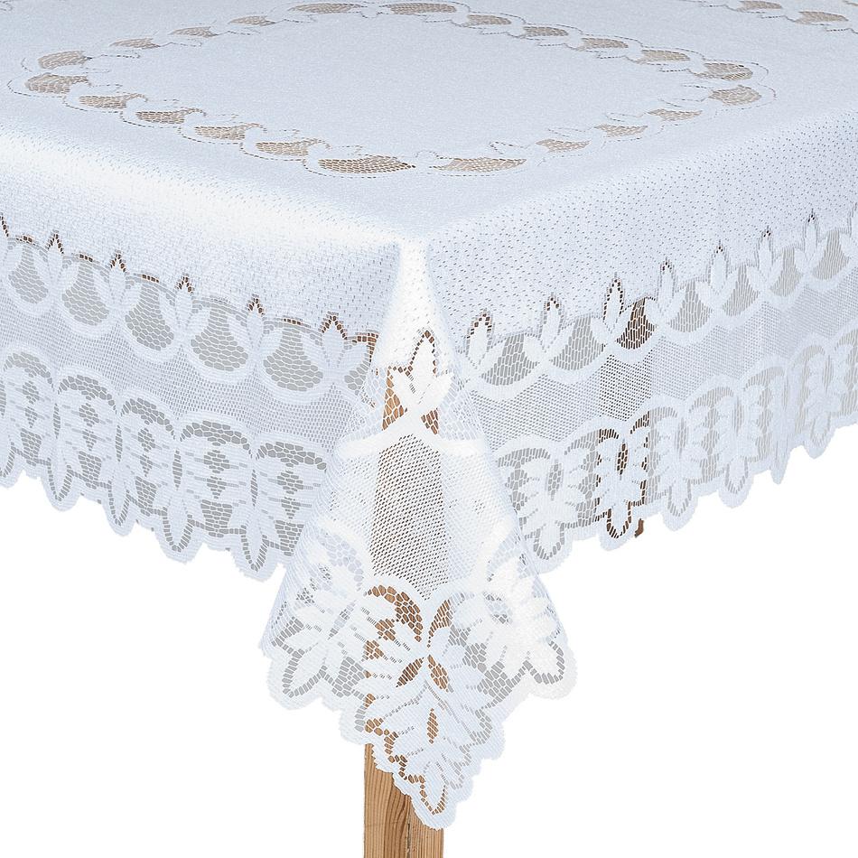 Forbyt Obrus čipkový žakárový Lukáš, 125 x 125 cm