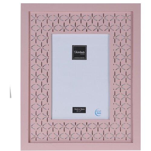 Fotorámeček Trento růžová, 29,5 x 24 cm