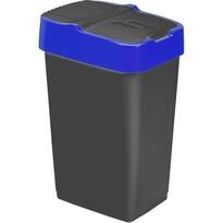 Heidrun Odpadkový kôš 18 l, s modrým pruhom