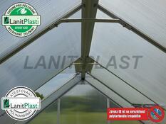 Skleník LanitPlast Plugin NEW 6x8