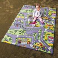 Dywan dziecięcy City life, 80 x 120 cm