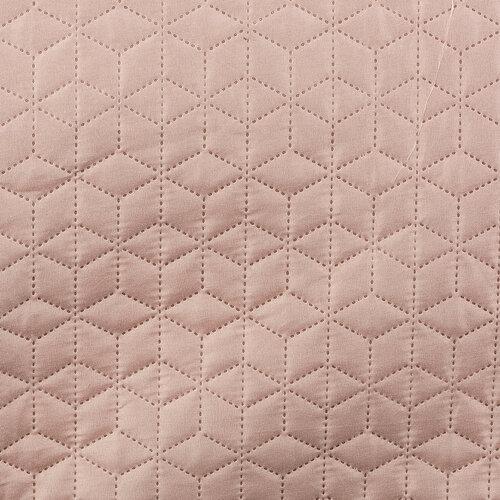 4Home Přehoz na postel Doubleface béžová/růžová, 220 x 240 cm, 2x 40 x 40 cm