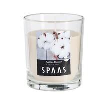 SPAAS Vonná sviečka v skle Cotton Blossom, 7 cm