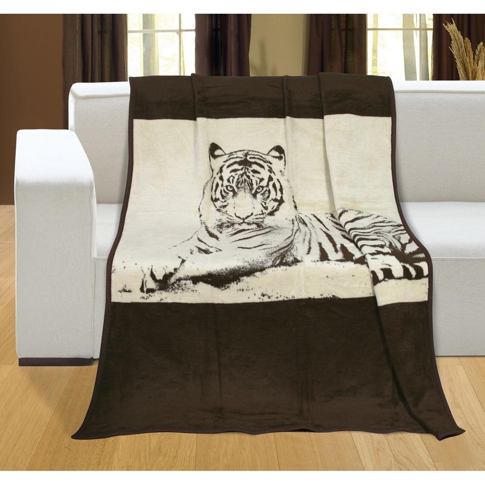Bellatex Deka Karmela plus Tiger, 150 x 200 cm