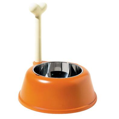 Miska pro psa Lupita 1500 ml, oranžová