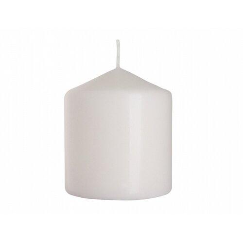 Dekorativní svíčka Classic Maxi bílá, 9 cm, 9 cm