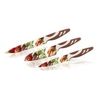 Banquet Zestaw noży z powierzchnią nieprzywierającą Warzywa