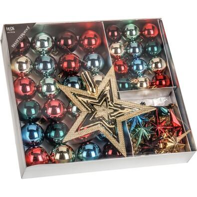 Vánoční ozdoby set Luxury Fairytale