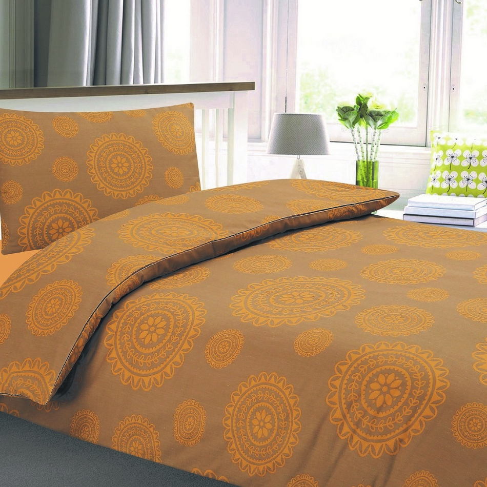 JAHU Krepové obliečky Bonita Maroko, 140 x 200 cm, 70 x 90 cm