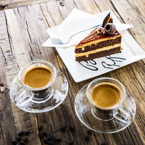 4home Termo pohár na espresso Elegante Hot&Cool 80 ml, 2 ks