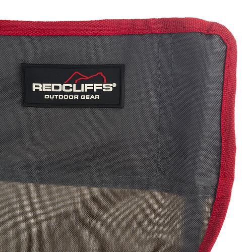 Krzesło wędkarskie Fish czerwony