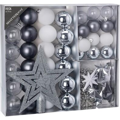 Set ornamente de Crăciun Luxury Winterpark