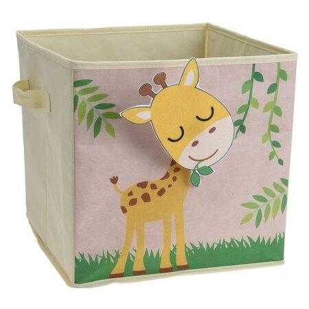 Zsiráf Gyermek tároló doboz, 32 x 32 x 30 cm