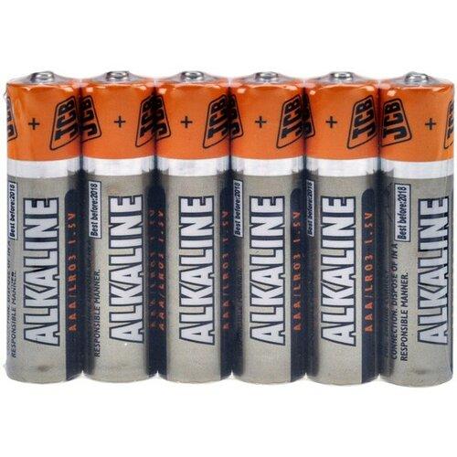 JCB SUPER alkalická batéria LR03, zmenšiť 6 ks (JCB-LR03-6S)