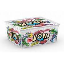 KIS Dekorační úložný box C Box Style Comics M, 18 l