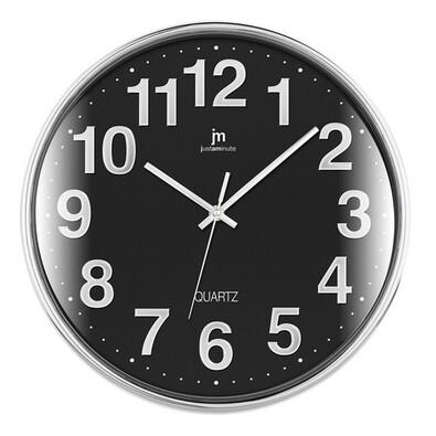 Lowell 00816N nástenné hodiny, pr. 35 cm