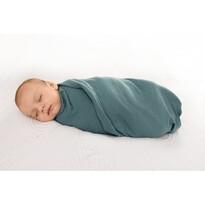 Rożek niemowlęcy zielony, 80 x 120 cm