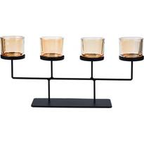 Koopman Svícen na čajové svíčky Valderas, 55 x 26 cm