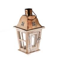 Lucerna s LED světlem Herbie, 16 x 31 cm
