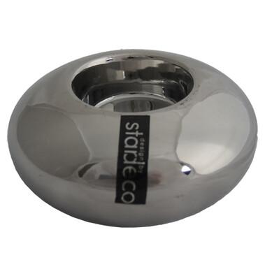 Svícen stříbrná 5 cm