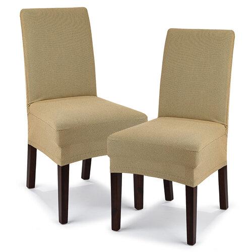 4Home Comfort Multielasztikus székhuzat  bézs színű, 40 - 50 cm, 2 db-os szett