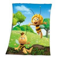 Dětská deka Včelka Mája, 130 x 160 cm