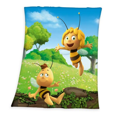 Koc dziecięcy Pszczółka Maja, 130 x 160 cm